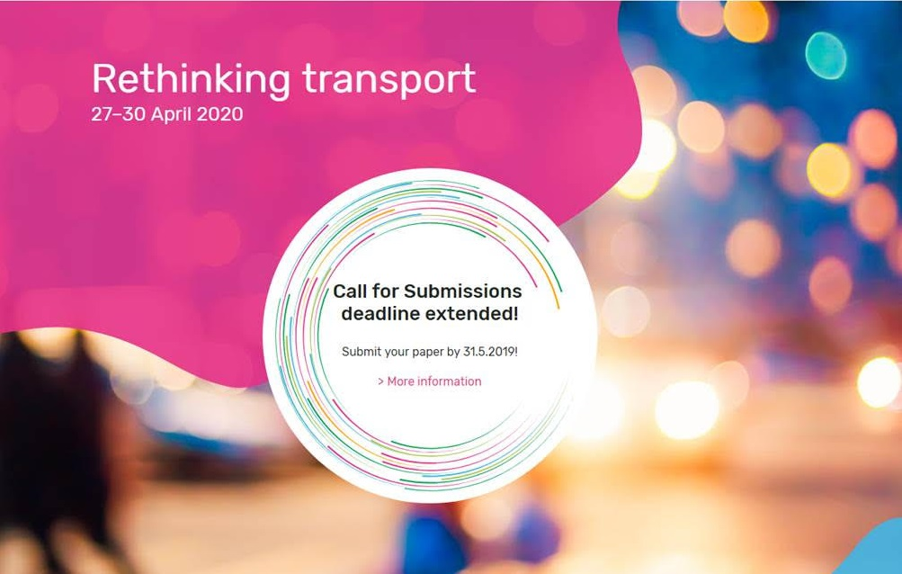TRA 2020 – Submissions deadline extended